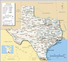 Map Of The Continental United States by Reference Map Of Texas Usa Nations Online Project
