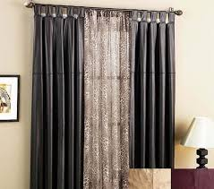 curtains black window curtains inspiration treatment ideas for the