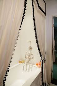plum u0026 bow blackout pompom curtain urban outfitters find a scarf