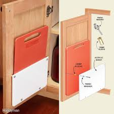 18 inspiring inside cabinet door storage ideas acrylic plastic