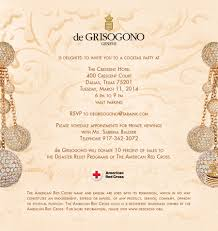 rsvp calendar you are invited to a de grisogono jewels benefit on