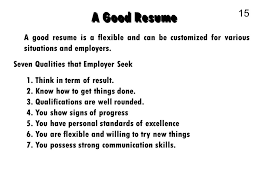 Communication Skills Examples Resume by Business Communication 1 The Job Search Communication 2 Planning