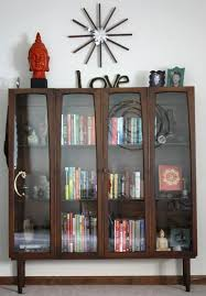 Modern Bookcases With Doors Bookshelf Astonishing Modern Bookcase With Doors Outstanding
