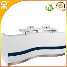 Wholesale Reception Desk 3 3meter 10 8ft Wholesale Salon Spa Wood Melamine Office Solid