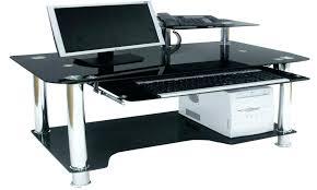 Computer Desks Black Black Glass Computer Desks Black Glass Computer Desk Argos