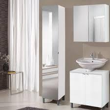 Tall Mirrored Bathroom Cabinets by Tall Bathroom Cabinets Wayfair Co Uk