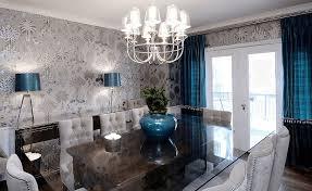 5 dining room wallpaper ideas