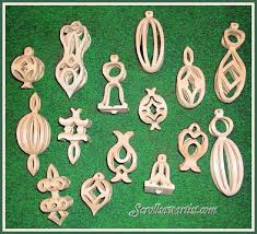 scroll saw 3d ornament patterns woodworking projects