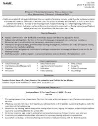 Sample In House Counsel Resume by Entry Level Attorney Resume Example And 5 Tips For Writing One