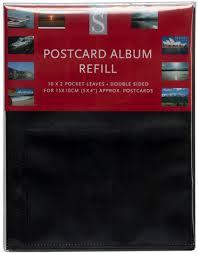 Album Inserts Whsmith Postcard Album Refills Pack Of 10 Whsmith