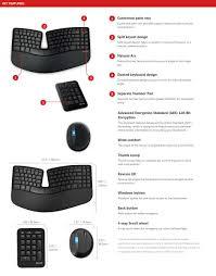 Ms Sculpt Comfort Desktop Microsoft Sculpt Ergonomic Desktop Keyboard And Mouse Numeric