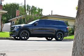 dodge durango tire size dodge durango niche nurburg m880 wheels matte black black