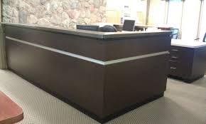 Curved Reception Desk Used Reception Desk Desk Design Custom L Shaped Reception Desk