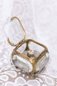 wedding ring in a box best 25 wedding ring box ideas on ring bearer box