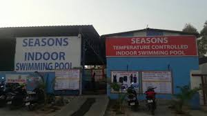 seasons indoor swimming pool in kondapur hyderabad 360 view