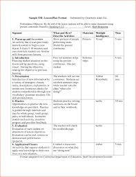 lesson plan template six step how to make your own elipalteco