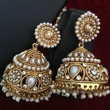 buy jhumka earrings online buy ethnic indian fashion jewelry set traditional jhumka