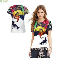 Couples Halloween Shirts by Online Shop Blood Skeleton Organs 3d Print Punk Women T Shirts