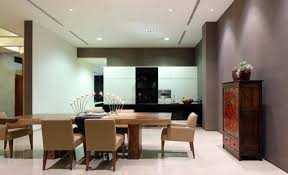 dining room diningroom open plan interior design lounge and
