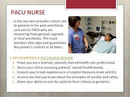 recovery room nurse useful tips to write rn resumes