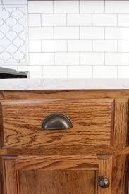 Stain Oak Kitchen Cabinets Best 25 Cabinet Stain Ideas On Pinterest Stained Kitchen