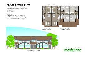 fourplex house plans tofino residential mixed use community woodsmere holdings corp