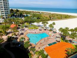 our amazing pool at beach at sheraton sand key clearwater beach