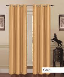 2 panels thermal energy saving madonna blackout curtains