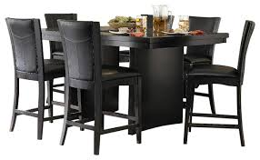 7 dining room sets soho espresso 7 counter height dining set rc willey