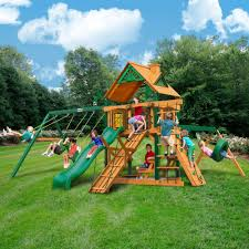 Lowes Swing Set Outdoor Costco Playset Gorilla Playsets Costco Swing Set
