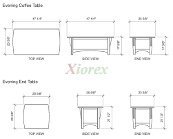 what size coffee table coffee table height of standard coffee table for shop dimensions