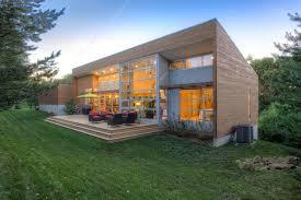 modern house of cedar siding and metal drawhome com exteriors