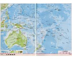 Asia Physical Map by Maps Of Oceania And Oceanian Countries Political Maps Road And
