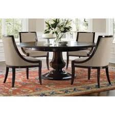 Classic Glass Round Table Dining Room Set Dining Room - Kitchen table round