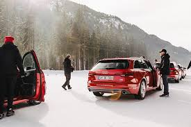 audi driving experience on in seefeld austria