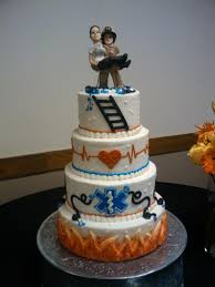 firefighter wedding cake everyday o cake sions paramedic firefighter wedding