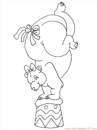 circus animals coloring pages circus train giraffe lion