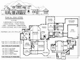 5 bedroom 2 story house plans 5 bedroom house plan 1 story lovely 4 bedroom e story ranch house