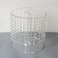 acrylic lucite plexiglass wedding pedestals stands invitations chu
