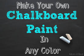 can i use chalk paint to paint my kitchen cabinets make your own chalkboard paint in any color 4 real