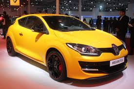 Auto Expo 2014 Renault Mégane Coupe R S Shown In Liquid Yellow