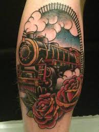 automotive tattoo sleeve 52 steam train tattoos