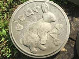 Stepping Stone Molds Uk by Rabbit Stepping Stone Mold Concrete Cement Mould Garden Path