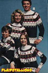 sweater for family plaid stallions rambling and reflections on 70s pop culture