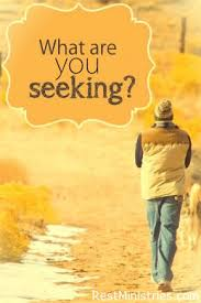 Seeking Where The Things Are What Are You Seeking Rest Ministries Chronic Illness And