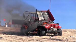 jeep sand rail jeep on fire silver lake sand dunes youtube