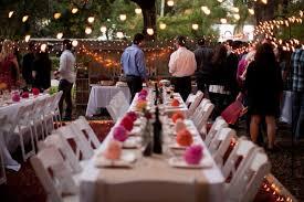 Backyard Bbq Reception Ideas A Backyard Wedding Celebration Backyard Wedding And Backyard
