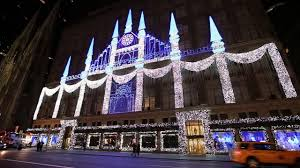 saks fifth avenue lights 2015 saks fifth avenue holiday lights video dailymotion