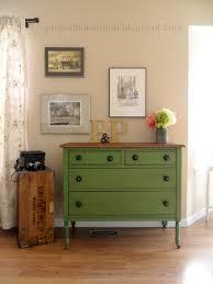 Painted Bedroom Dressers by Helen Nichole Designs Vintage Green Dresser