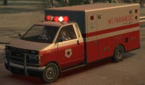 image ambulance gta4 front jpg gta wiki fandom powered by wikia